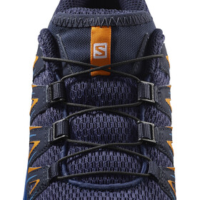 Salomon XA Pro 3D Shoes Kids medieval blue/mazarine blue wil/tan